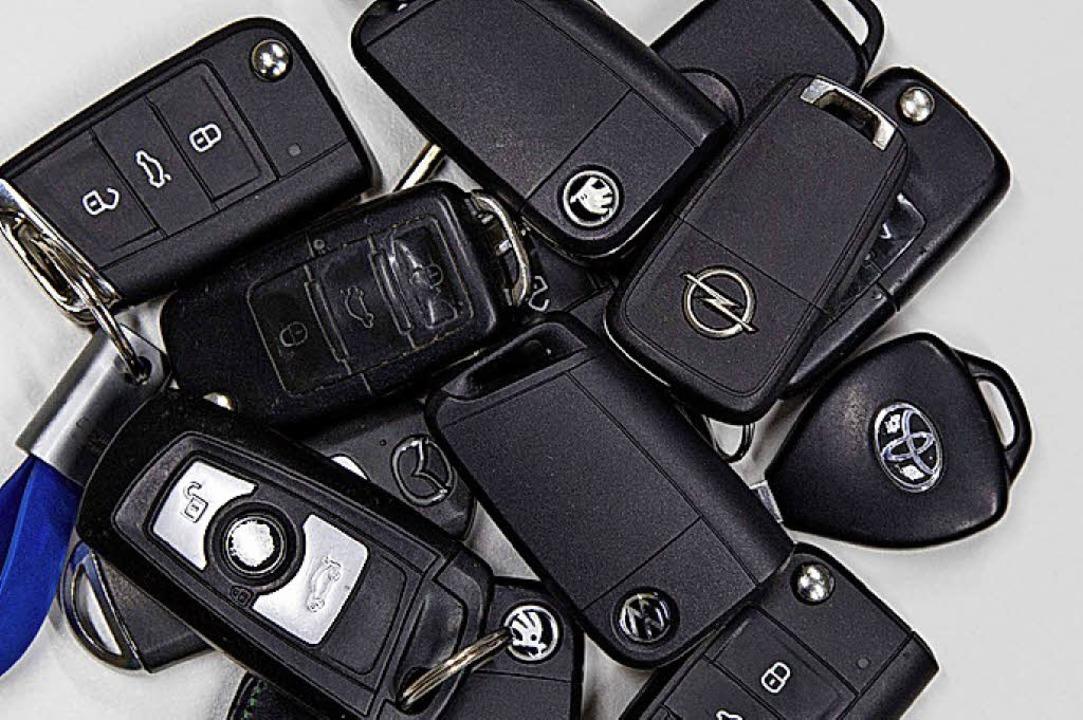 Sicherheitslücken: Auf Funkschlüssel k...schon mit geringem Aufwand zugreifen.   | Foto: ADAC/dpa