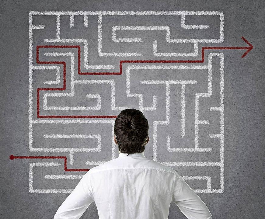 Manchmal führen nur Umwege zum Ziel. L...uch in der Ausbildung nicht aufgeben.   | Foto: Rangrizz (Fotolia.com)