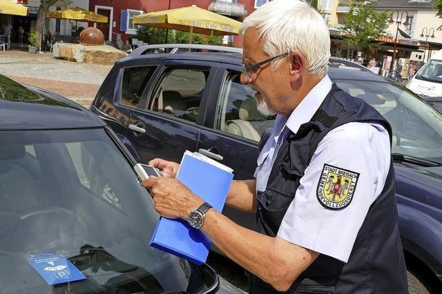 Mit der Gemeindepolizei auf Streife
