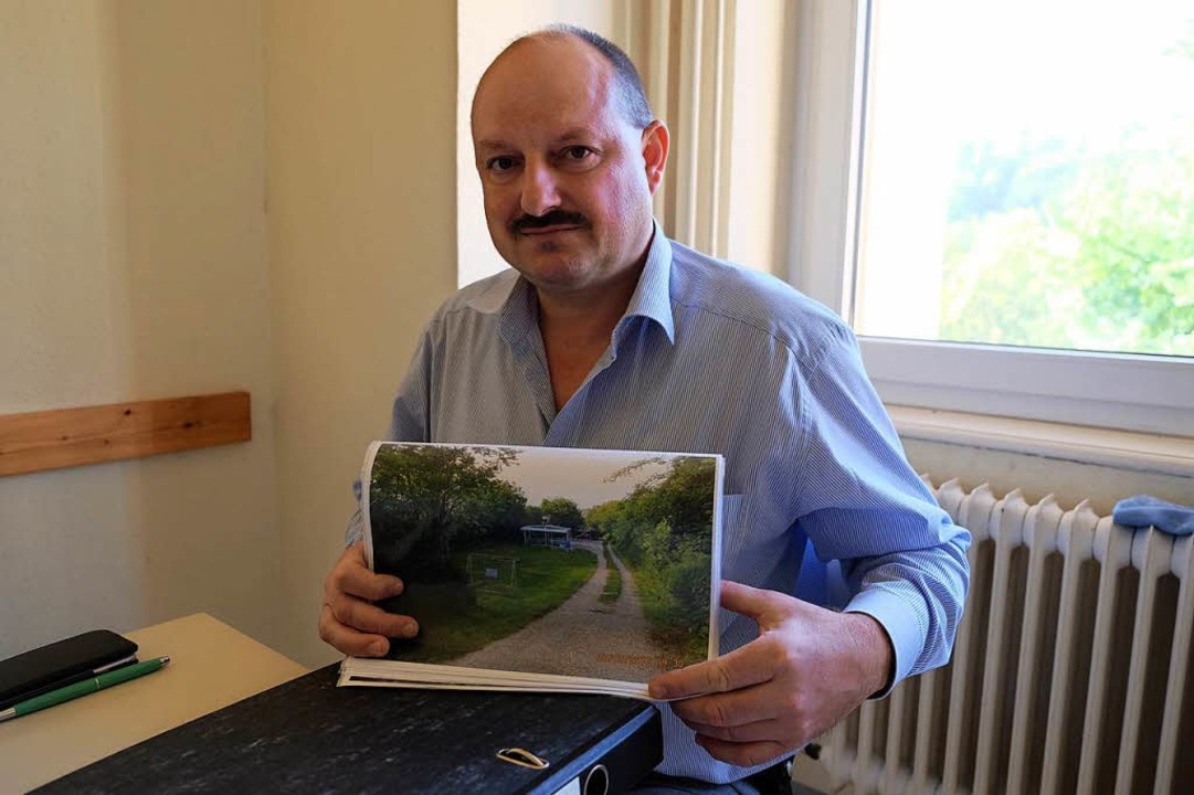 Ralph Pyhrr wehrt sich gegen den drohenden Abbau der Anlagen.  | Foto: Martin Pfefferle