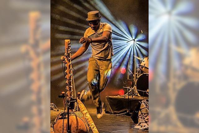 Afrikanische Musik beim Museumsfest in Offenburg