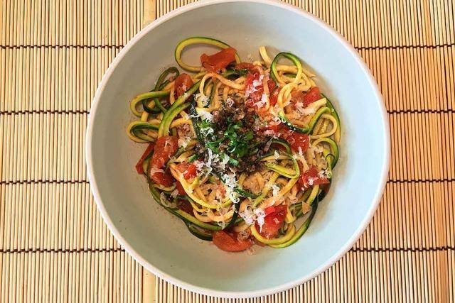 Die Selbstgedrehten: So gelingen Zucchini-Spaghetti