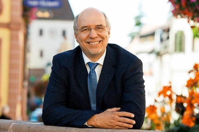Jörg Dengler aus Freiburg will Bürgermeister in Endingen werden