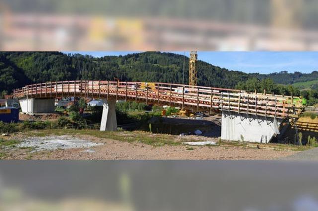 Teure Brücke für den Wirtschaftsweg