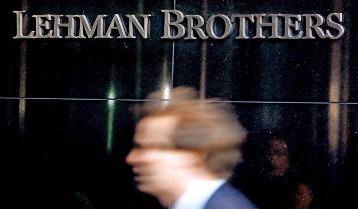 Im Jahr 2008 waren die Tage bei der Pleitebank Lehman Brothers hektisch.    | Foto: DPA