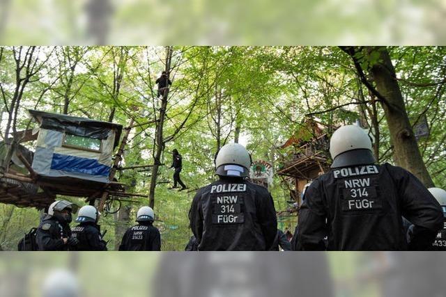 Polizei stürmt