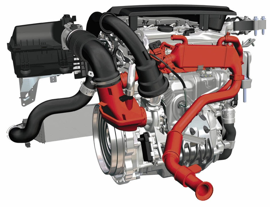 Ein Pkw- Dieselmotor   | Foto: BZ