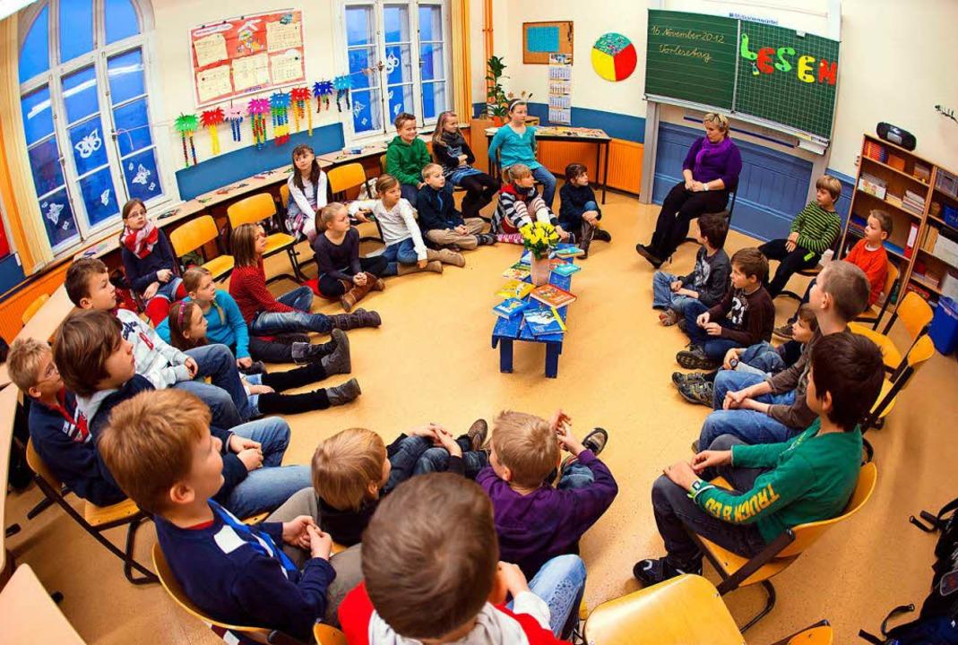 Die Schule ist ein Ort, an dem man für... Sinne der Persönlichkeitsentwicklung.  | Foto: Jens Büttner