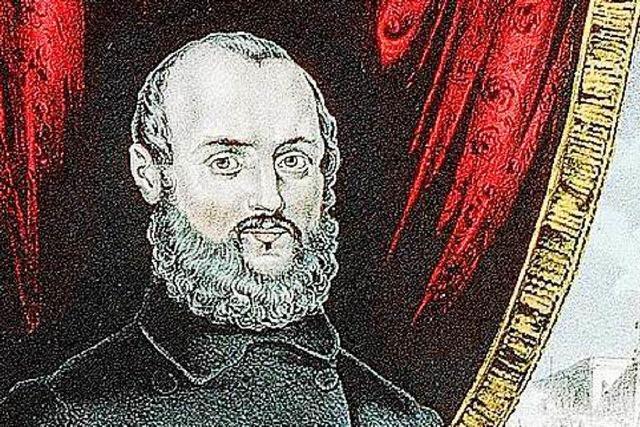 Gustav Struve wollte 1848 den badischen Großherzog stürzen