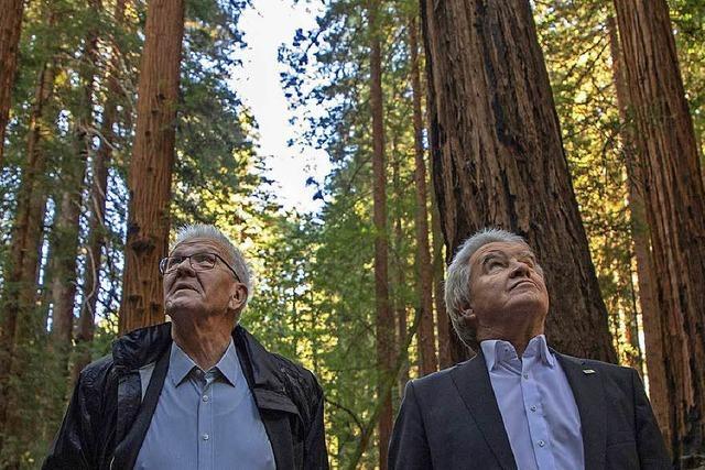 Winfried Kretschmann macht auf seiner Kalifornien-Reise Klimapolitik