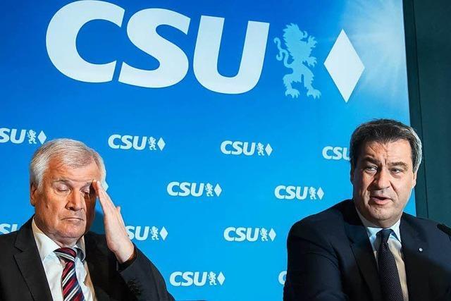 Die CSU ist vor der Wahl ratlos bis panisch