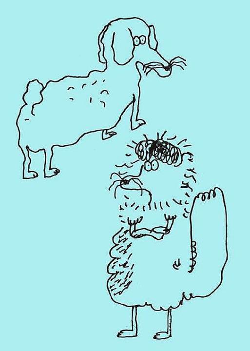 Der Hamburger Grafiker Stefan Marx zei...akate der Partyreihe Down By The Lake.  | Foto: Stefan Marx