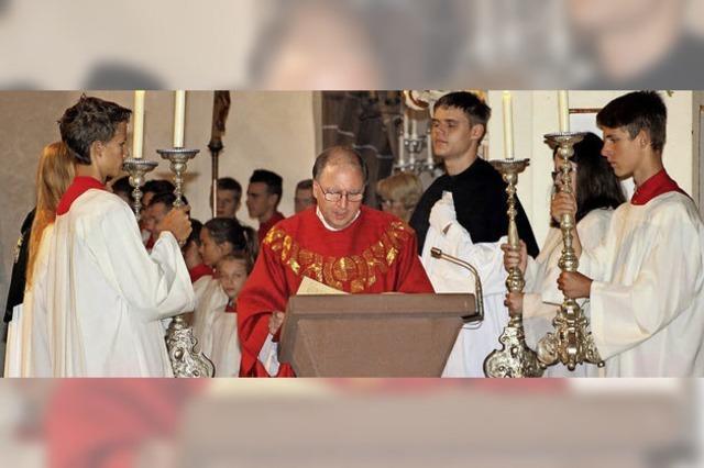 Zu Ehren des Heiligen Laurentius