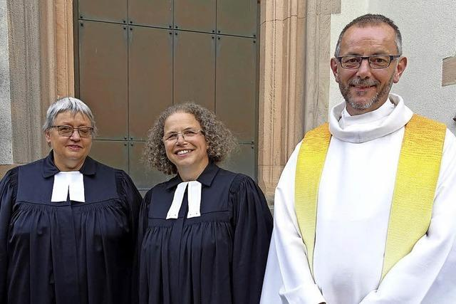 Freude über neue Pfarrerin