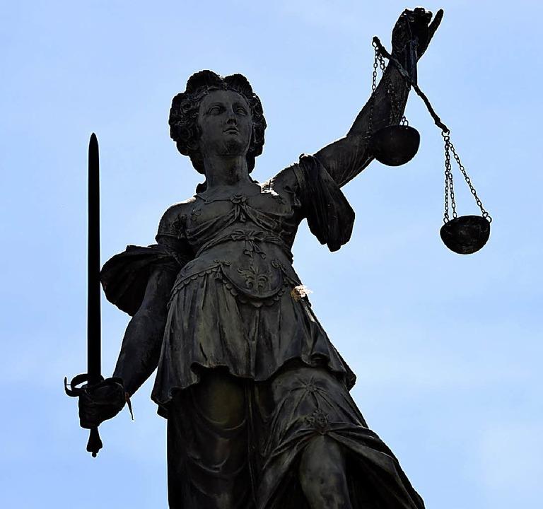 Justitia hat ihr Urteil gefällt.   | Foto: Symbolfoto: dpa