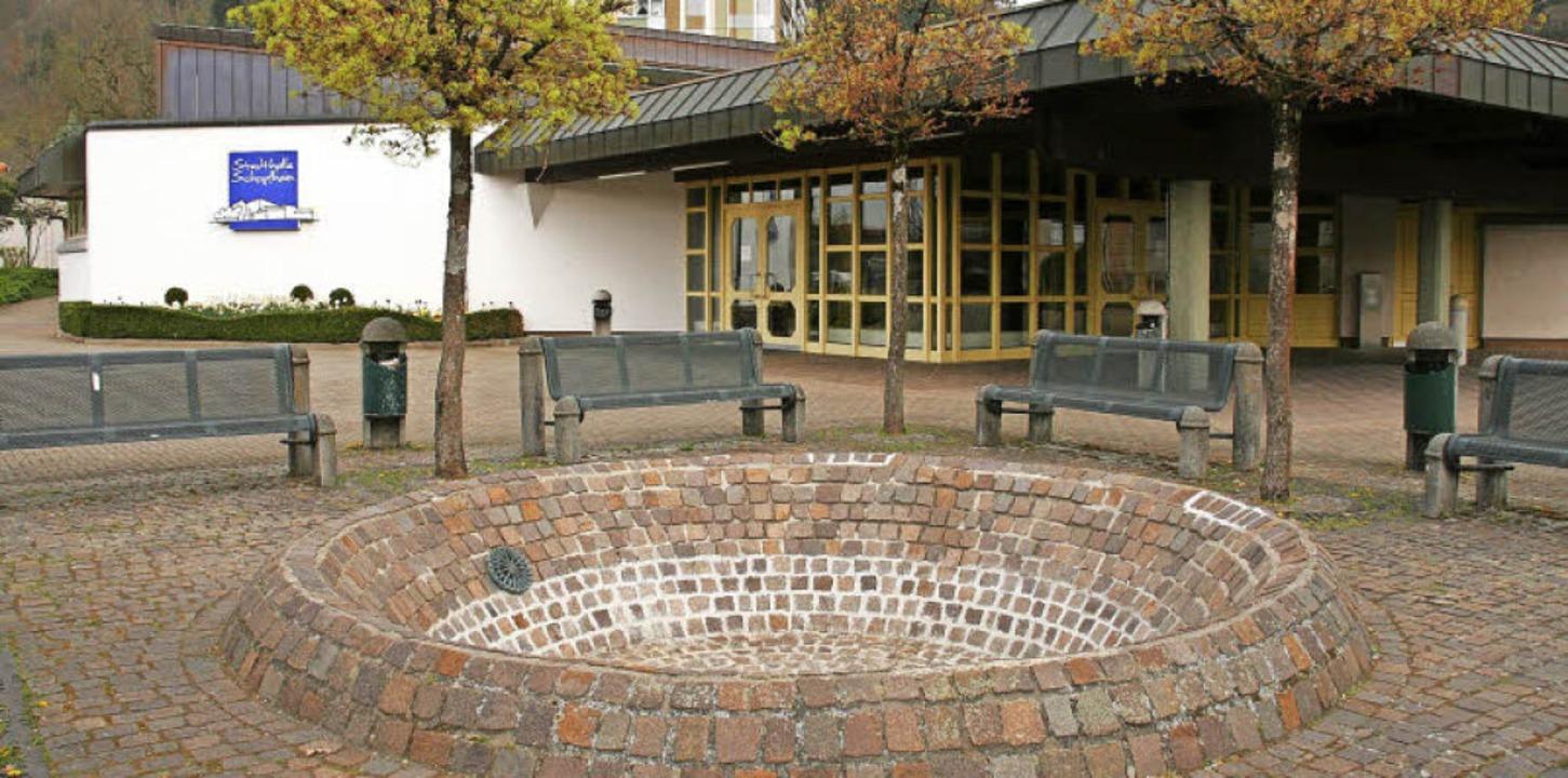 In der Stadthalle findet am Dienstag, ...andidaten ums Bürgermeisteramt statt.   | Foto: Marlies Jung-Knoblich