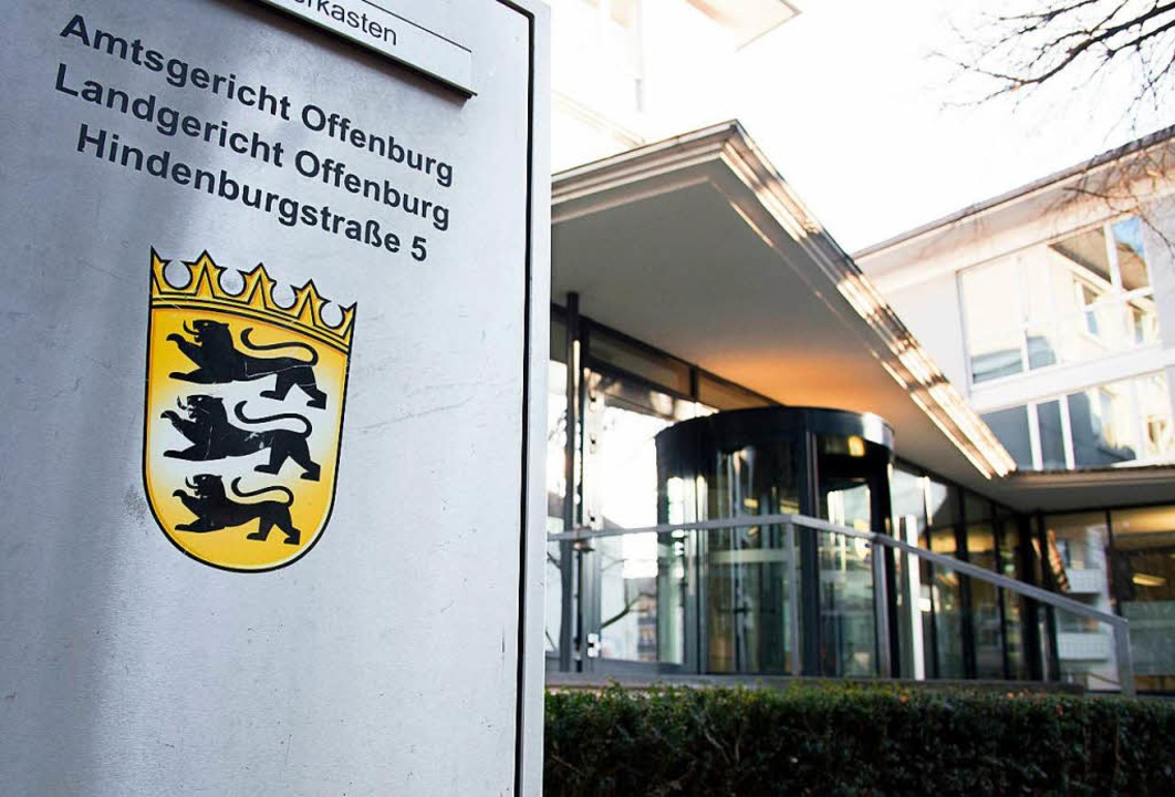 Der Prozess gegen die Altenpfelgerin findet in Offenburg statt.  | Foto: dpa