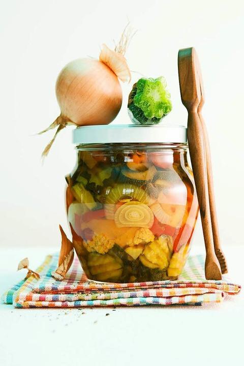 Pikante Zucchini  | Foto: Michael Wissing