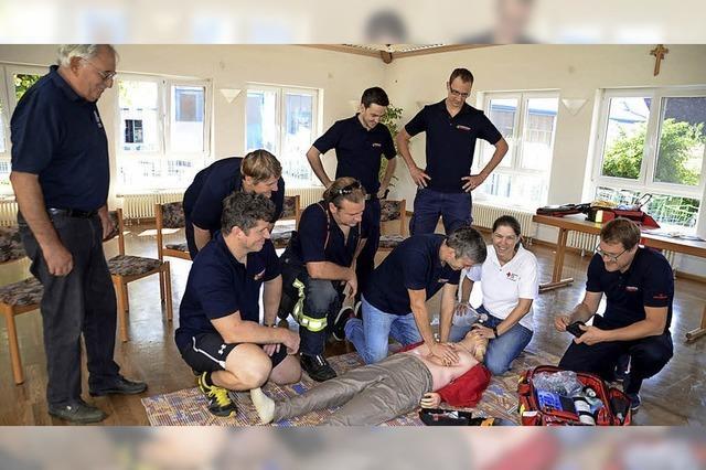 Einmal selber Feuerwehrmann oder Ersthelfer sein