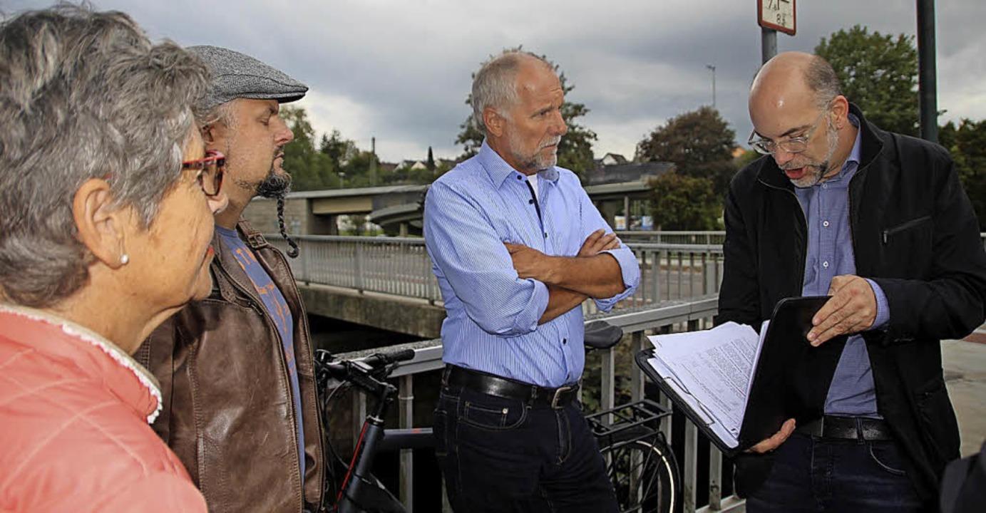 Von der Käferbrücke  und dem Parkschwi...tour auf die Haushaltsberatungen vor.   | Foto: Jakober