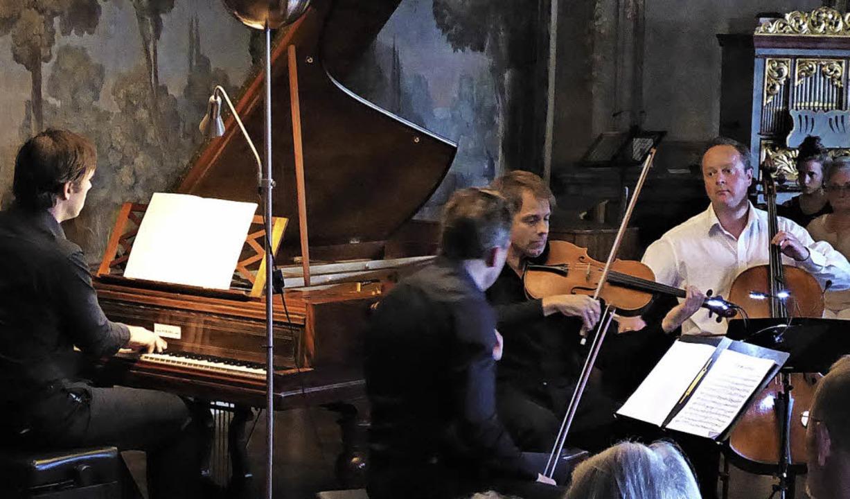 Das Trio Phaeton präsentierte auch am ...Werke von Felix Mendelssohn Bartholdy.    Foto: Hans Jürgen Kugler