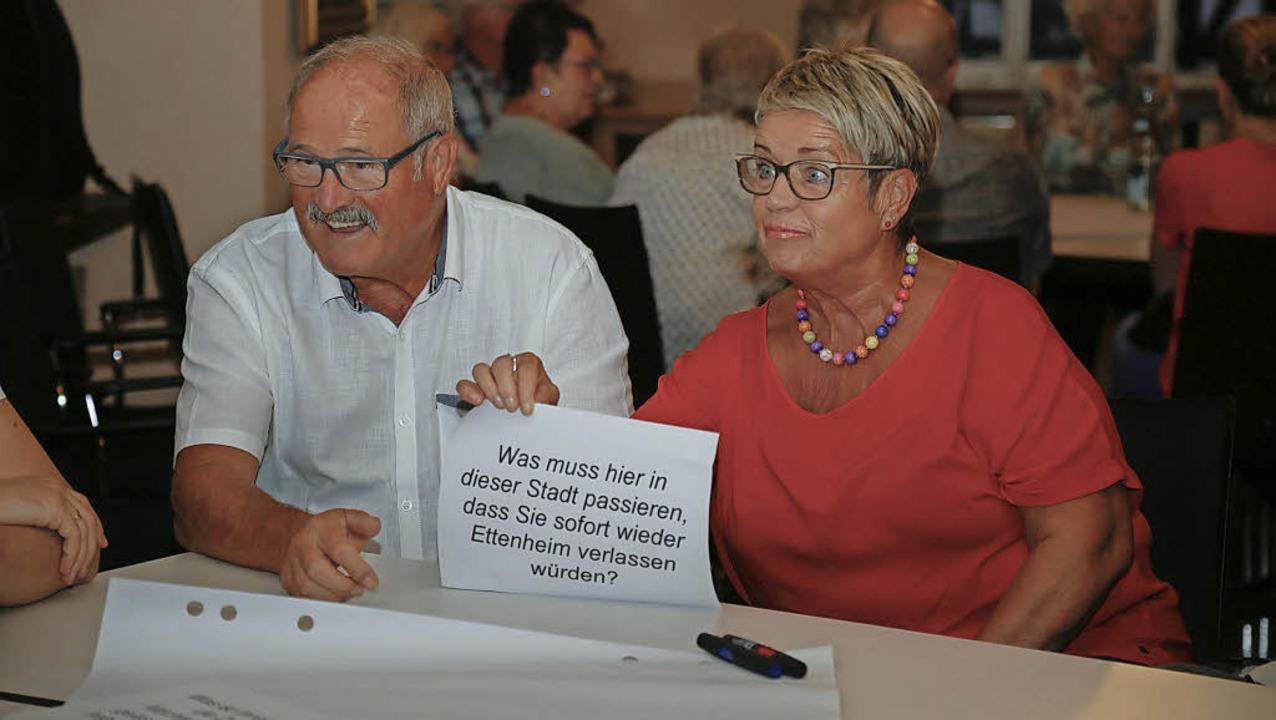 Diese Neubürger konnten offensichtlich... stellt sich für diesen beiden nicht.     Foto: Sandra Decoux-Kone