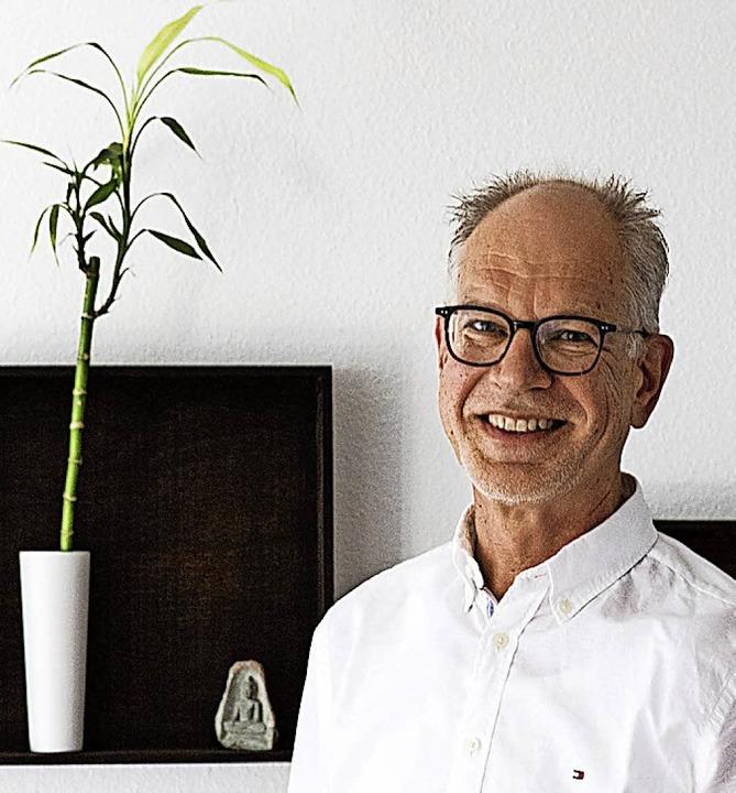 Christoph Volz hält  im Roten Haus einen Vortrag über China.    Foto: Zahn