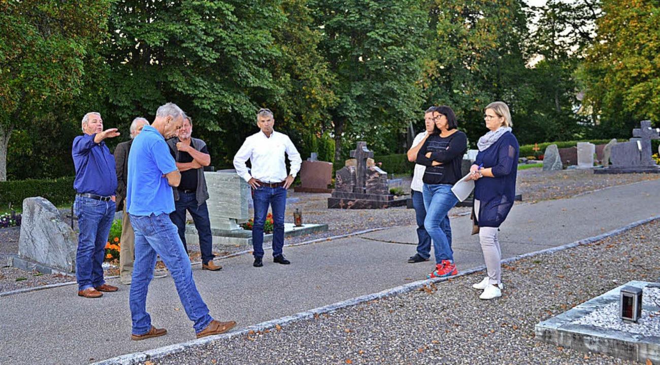 Der Gemeinderat Friedenweiler informie... Gräbern sollen neu gestaltet werden.     Foto: Schilling
