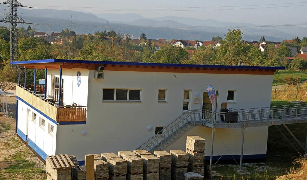 Am kommenden Sonntag wird in Karsau das Kickhüsli eingeweiht.   | Foto: Petra Wunderle