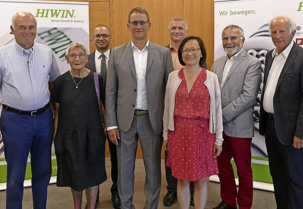 Die Firma Hiwin im Gewerbegebiet Ramme...ich (ASHA Freundes- und Förderkreis).     Foto: Ralf Burgmaier