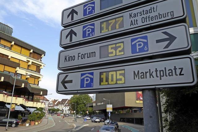 Neues Parkleitsystem soll großer Wurf werden