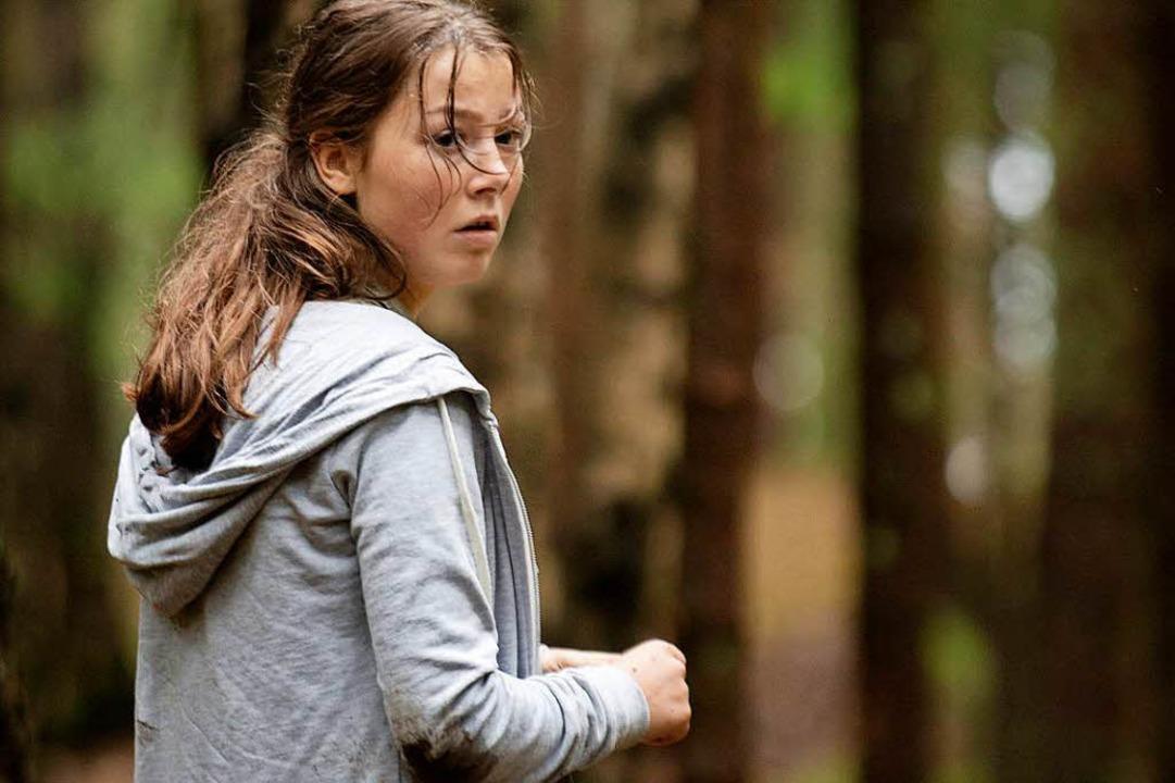 Hilflose Helferin, tragische Heldin: die überragende Andrea Berntzen als Kaja  | Foto: dpa