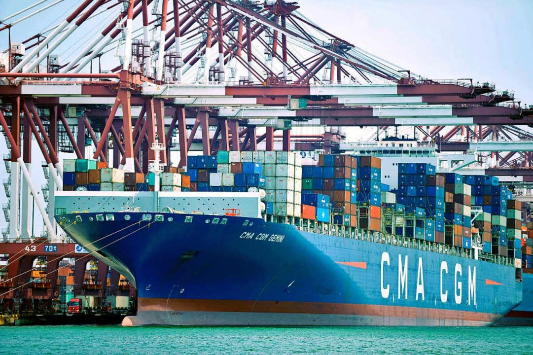 Eine lange Liste von Importen aus China wird um zehn Prozent teurer.    Foto: dpa