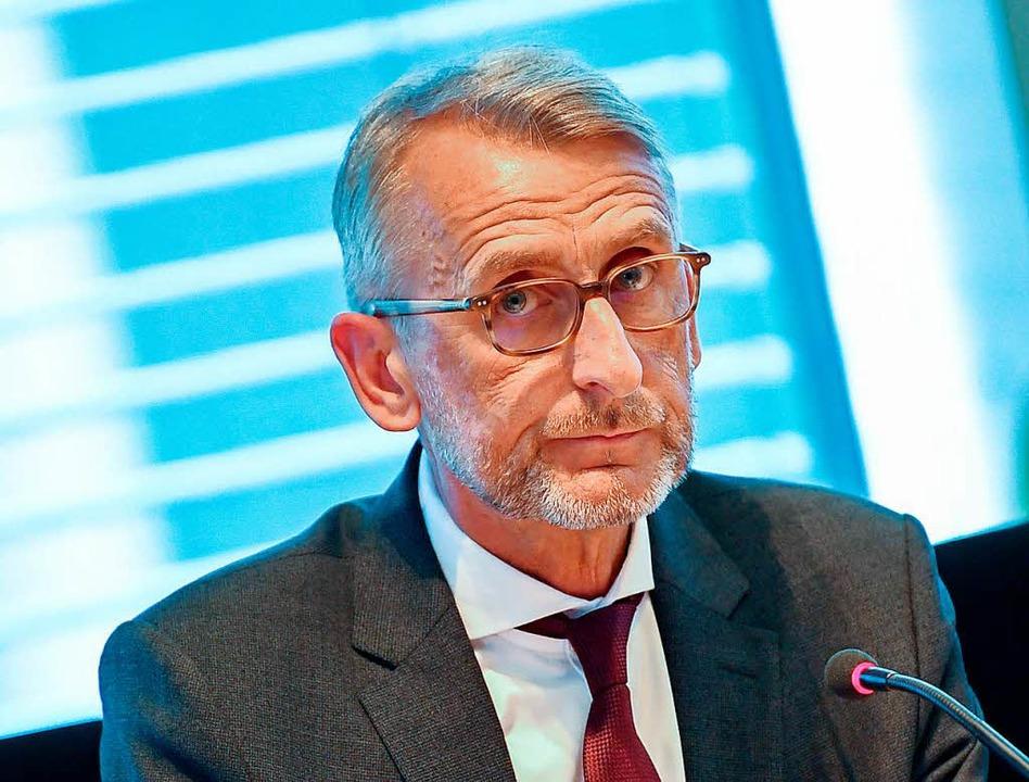 Armin Schuster (CDU)  | Foto: Britta Pedersen