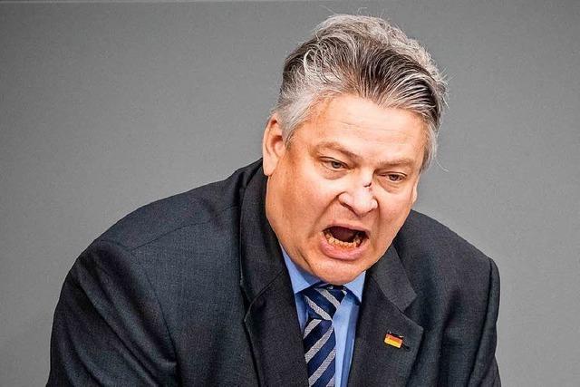 Der AfD-Abgeordnete und Staatsanwalt Thomas Seitz verliert seinen Beamtenstatus