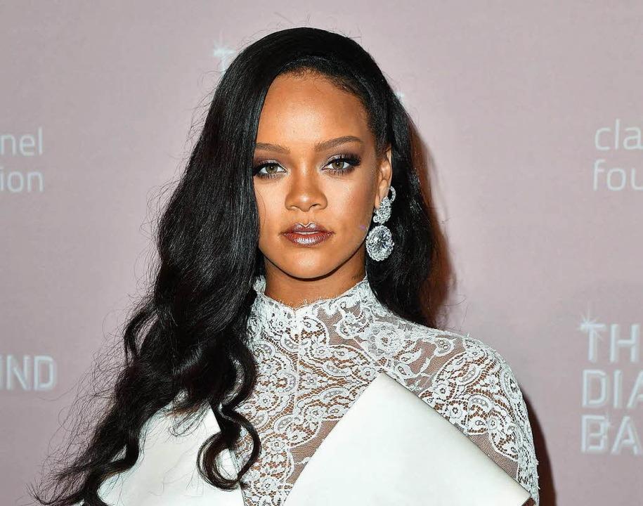 Schwärmt für Cognac: Rihanna  | Foto: AFP