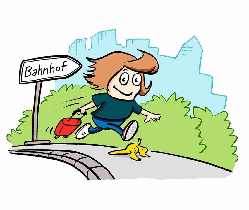 In der Freiburger Kinder- und Jugendbi...am Mittwoch live ein Comic gezeichnet.  | Foto: Charlotte Hofmann