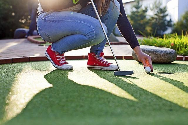 Minigolf in der Region