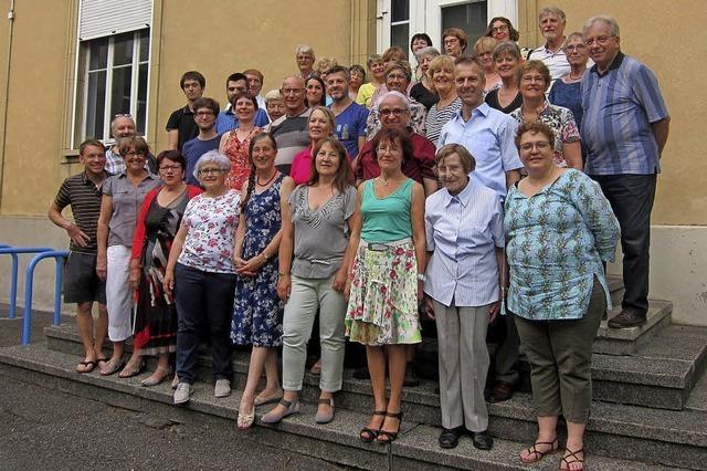 """Ensemble vocal """"Le Motet"""" und """"Atout-C(h)oeur, der gemischte Chor des Konservatorium von Saint-Louis in Badenweiler"""