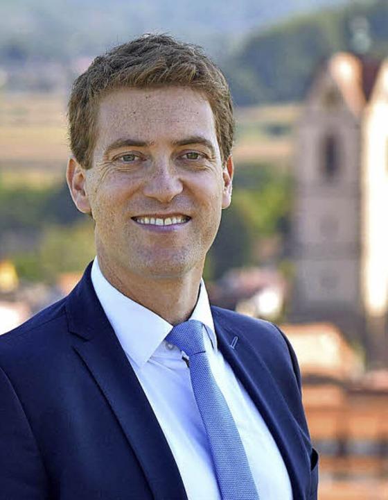 Tobias Metz (36) aus Ettenheim will neuer Bürgermeister von Endingen werden.  | Foto: Privat
