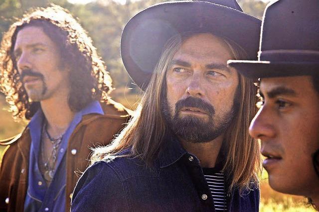 Badiche Zeitung verlost zweimal zwei Tickets für die Country-Rock-Night am Samstag, 22. September. (Foto: Die US-Coutry-Band High South)