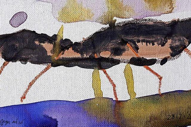 Blick auf das Werk Rainer Braxmaiers