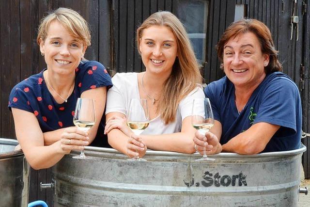 Die aktuelle und zwei ehemalige Weinprinzessinnen wohnen in derselben Straße in Schallstadt