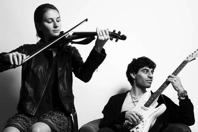Gesang und Geige treffen auf Gitarre: Molly's Peck tritt in Lörrach auf