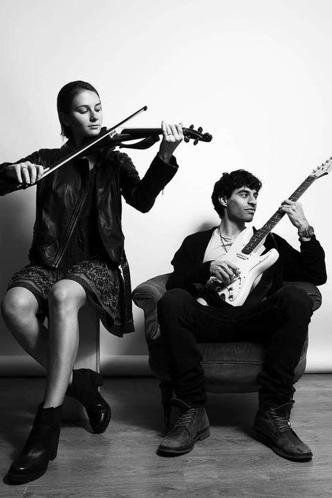 Geige trifft auf Gitarre  | Foto: Molly's Peck