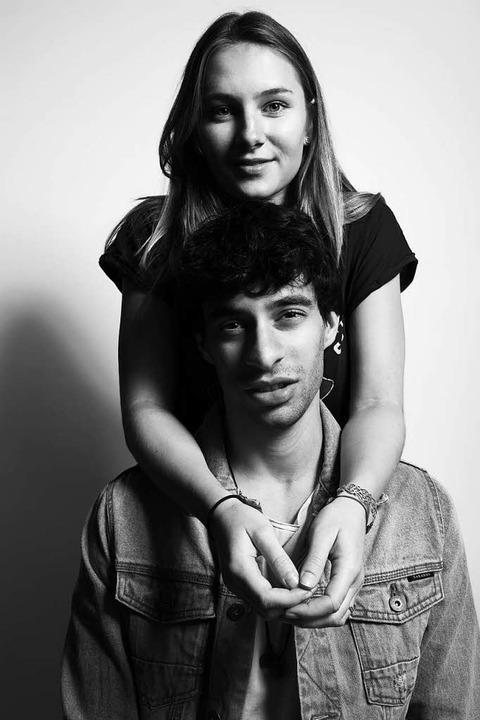 Er kommt aus São Paulo, sie aus Lörrach: Julia Selbherr und Guilhermo Castelhano  | Foto: Molly's Peck