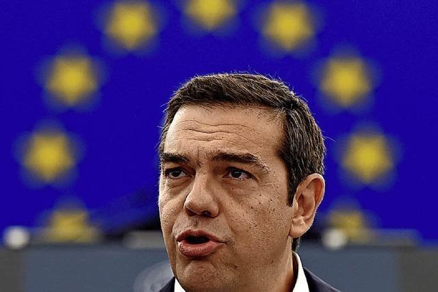 Tsipras erneuert Forderung nach Reparationen
