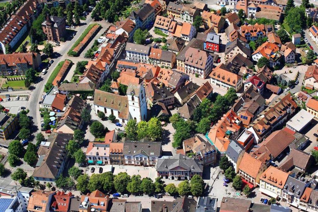 Das Herz von Schopfheim    Foto: Erich Meyer