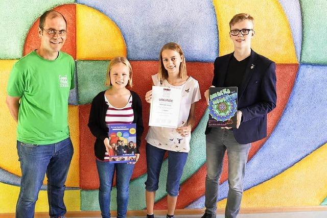 Warum eine Schülerzeitung aus Kandern zu den Besten in Deutschland gehört