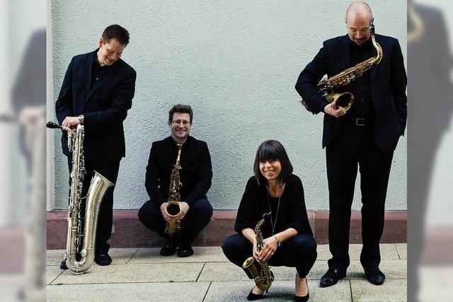 Raschèr Saxophone Quartet und Mädchenkantorei Freiburg geben am Samstag, 22. September, Friedenskonzert in der Versöhnungskirche Waldshut